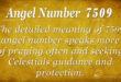 7509 angel number