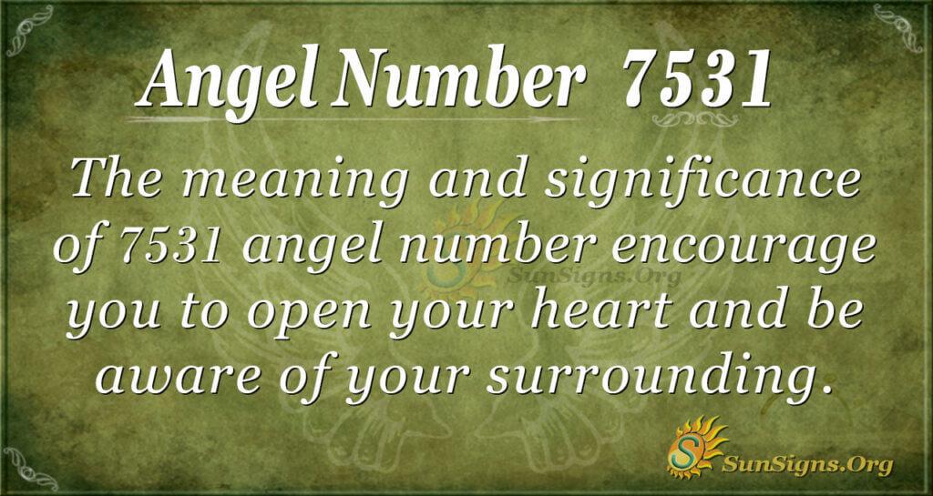 7531 angel number