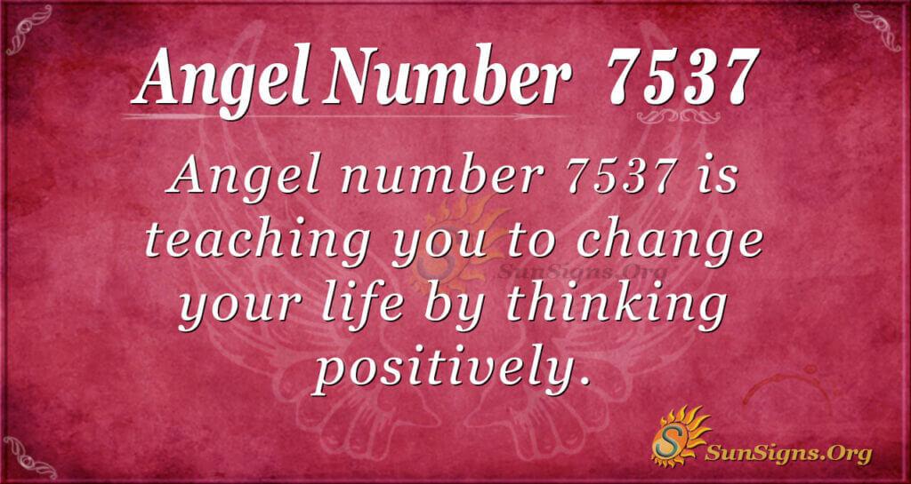 7537 angel number