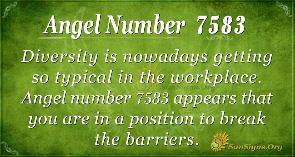 7583 angel number