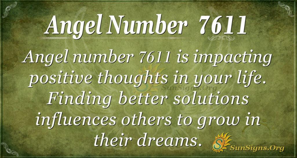 7611 angel number