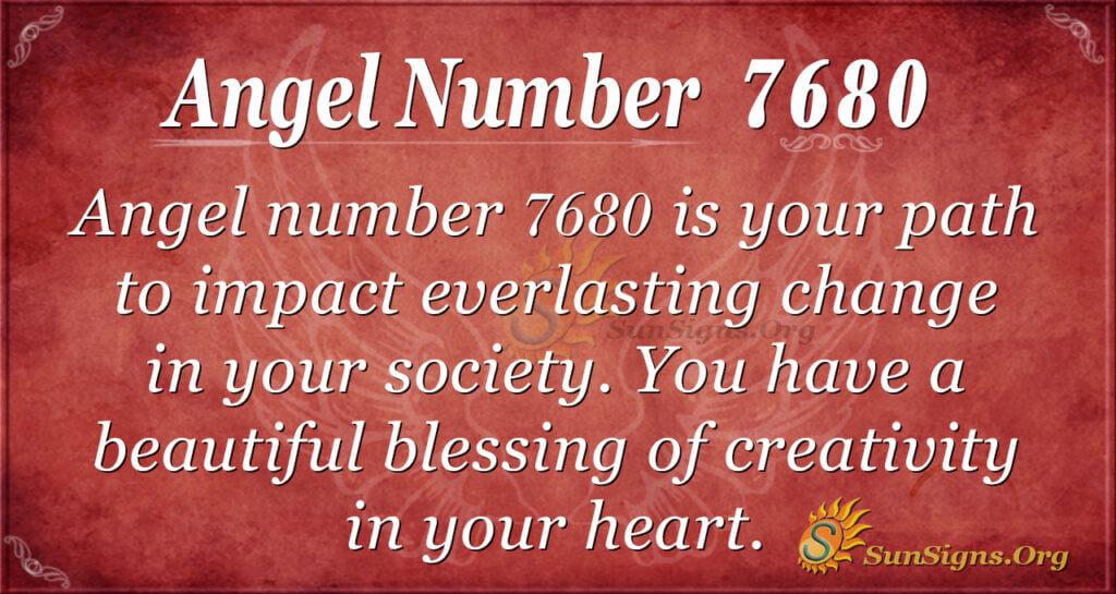 7680 angel number