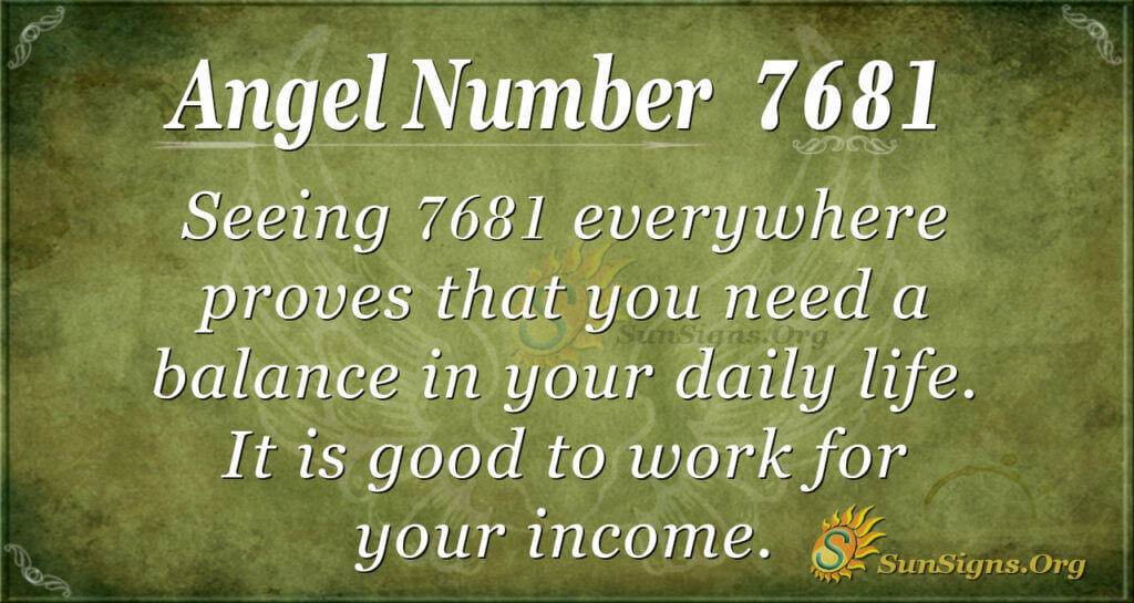 7681 angel number