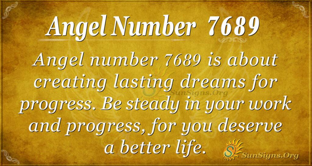 7689 angel number