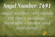 7691 angel number