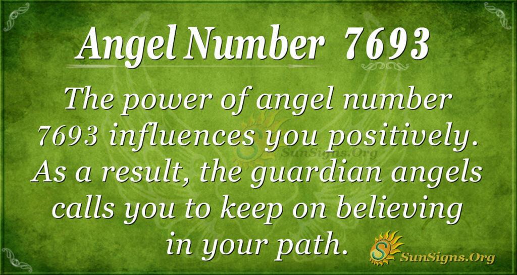 7693 angel number