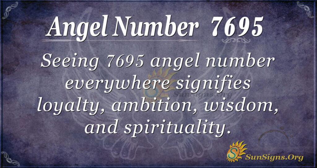 7695 angel number