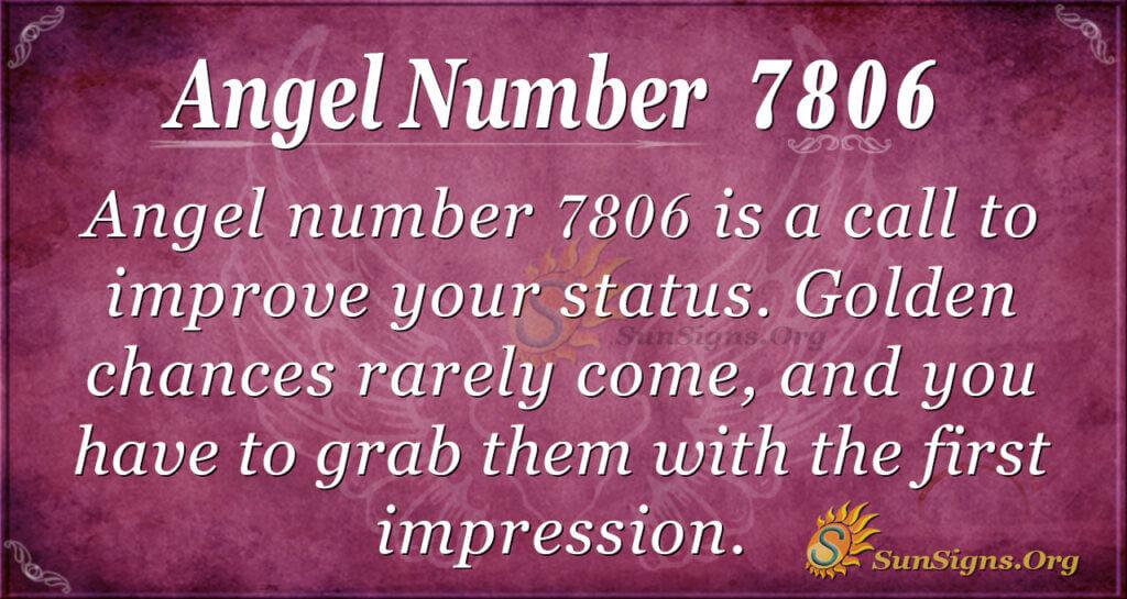 7806 angel number