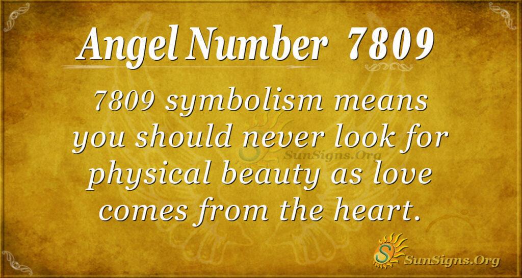 7809 angel number