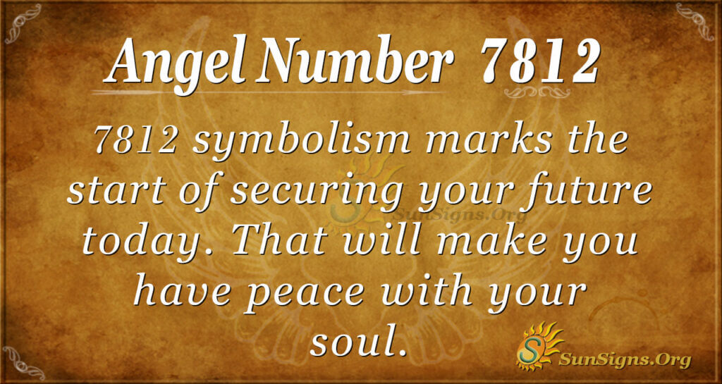 7812 angel number