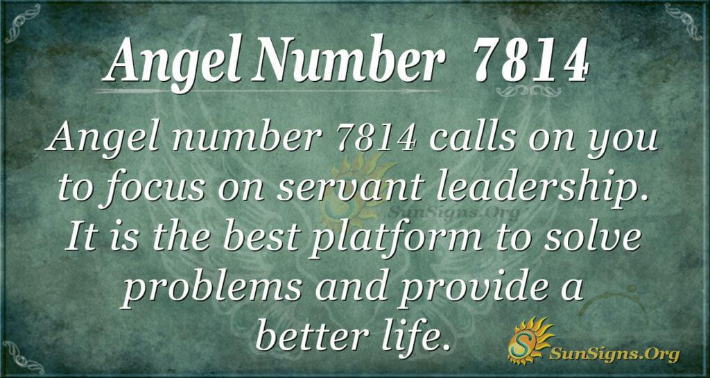 7814 angel number