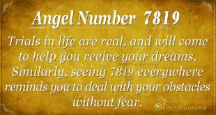 7819 angel number