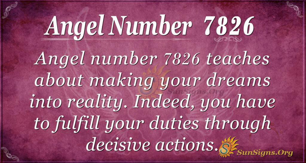 7826 angel number