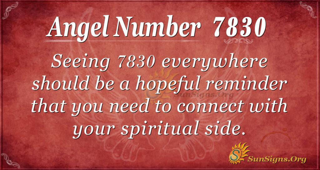 7830 angel number