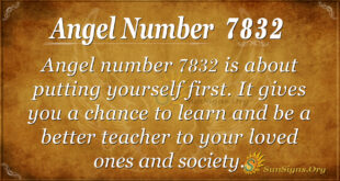 7832 angel number