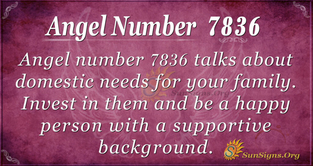 7836 angel number