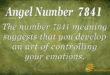 7841 angel number