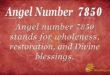 7850 angel number