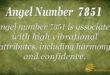 7851 angel number