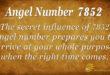 7852 angel number