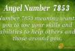 7853 angel number