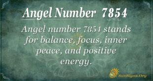 7854 angel number