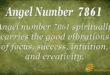 7861 angel number