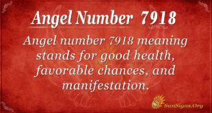 7918 angel number