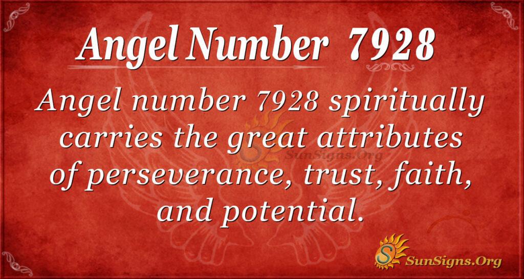 7928 angel number