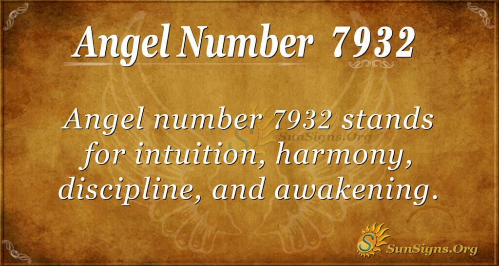7932 angel number