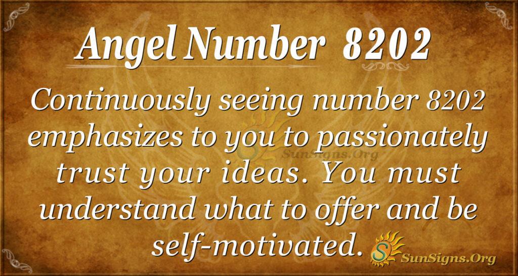 8202 angel number
