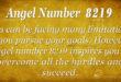 8219 angel number