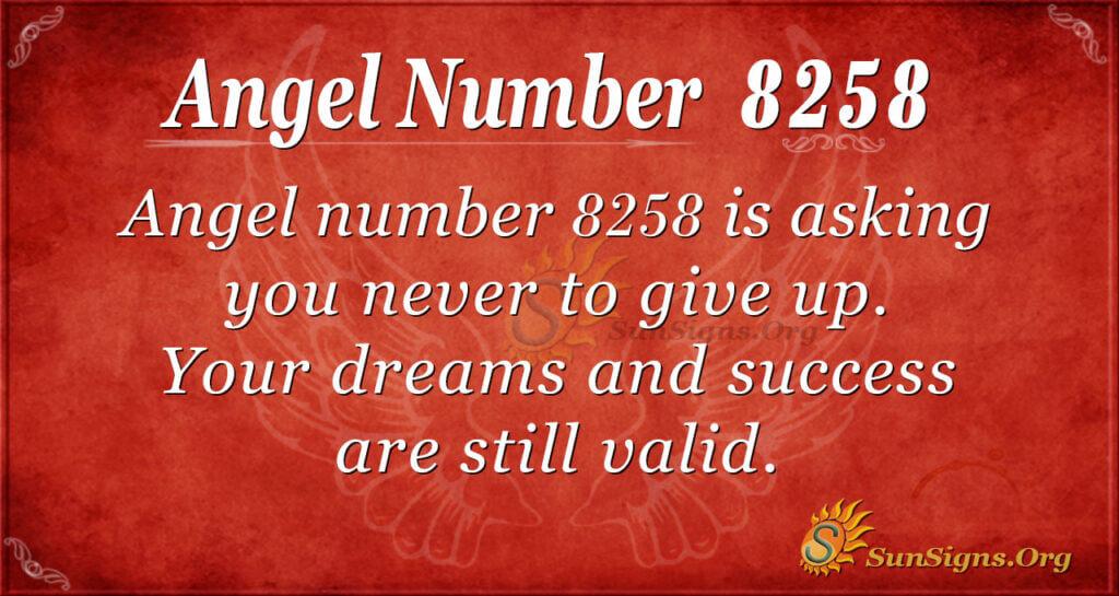 8258 angel number