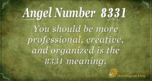 8331 angel number