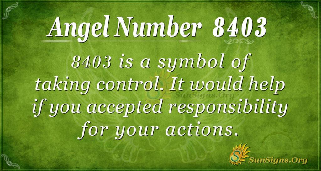 8403 angel number