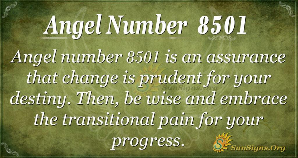 8501 angel number