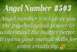 8503 angel number