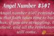 8507 angel number