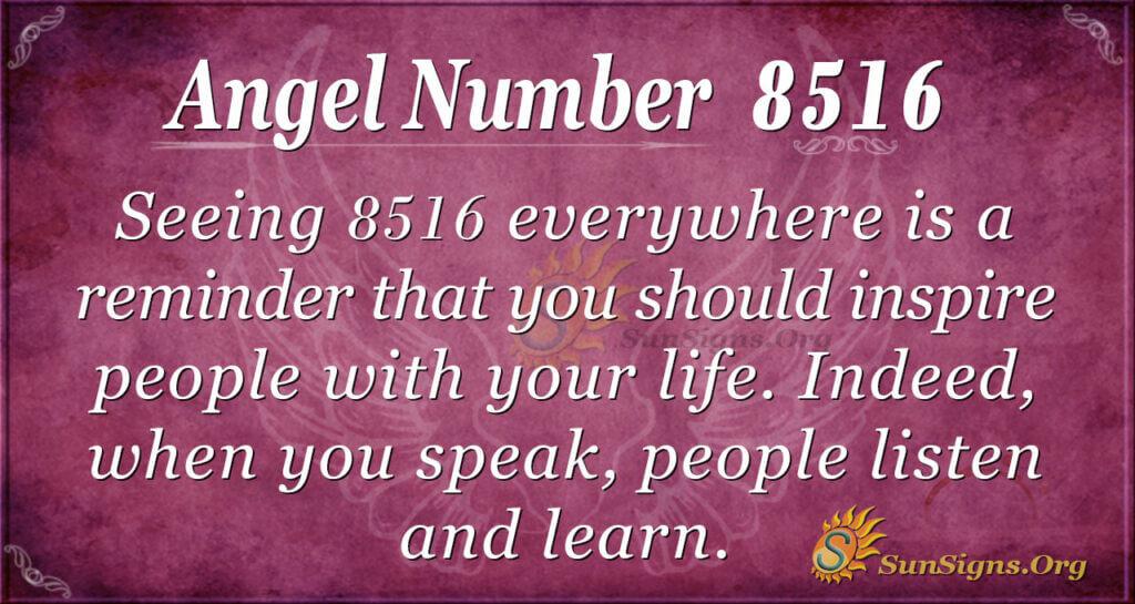 8516 angel number