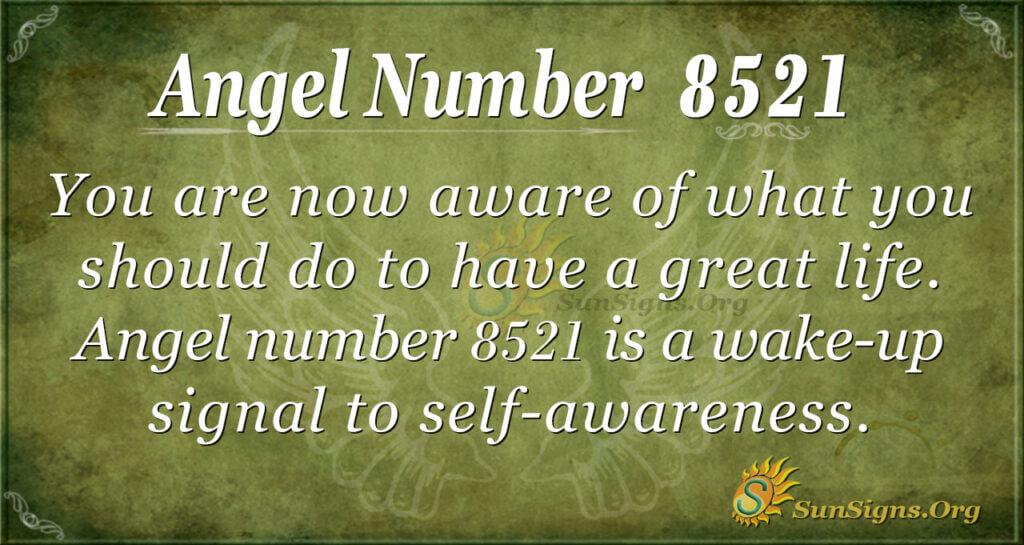 8521 angel number