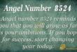 8524 angel number