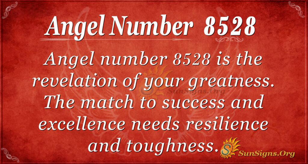 8528 angel number