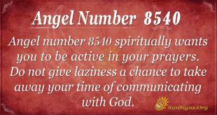 8540 angel number