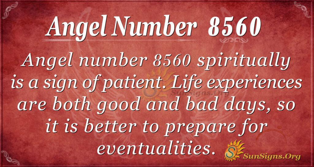 8560 angel number