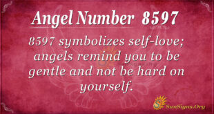 8597 angel number