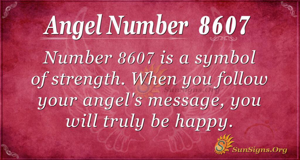 8607 angel number