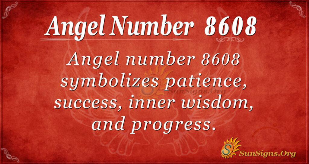 8608 angel number