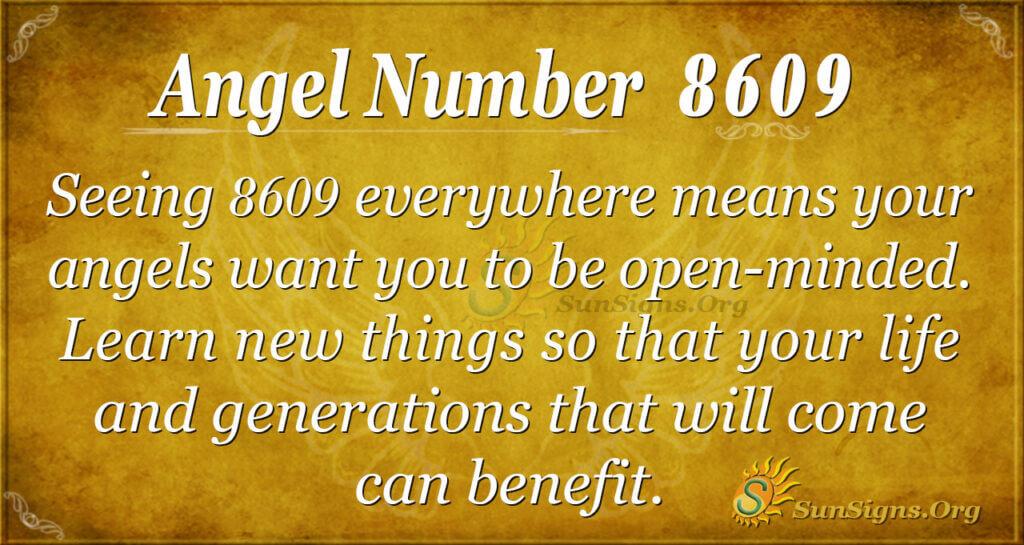 8609 angel number