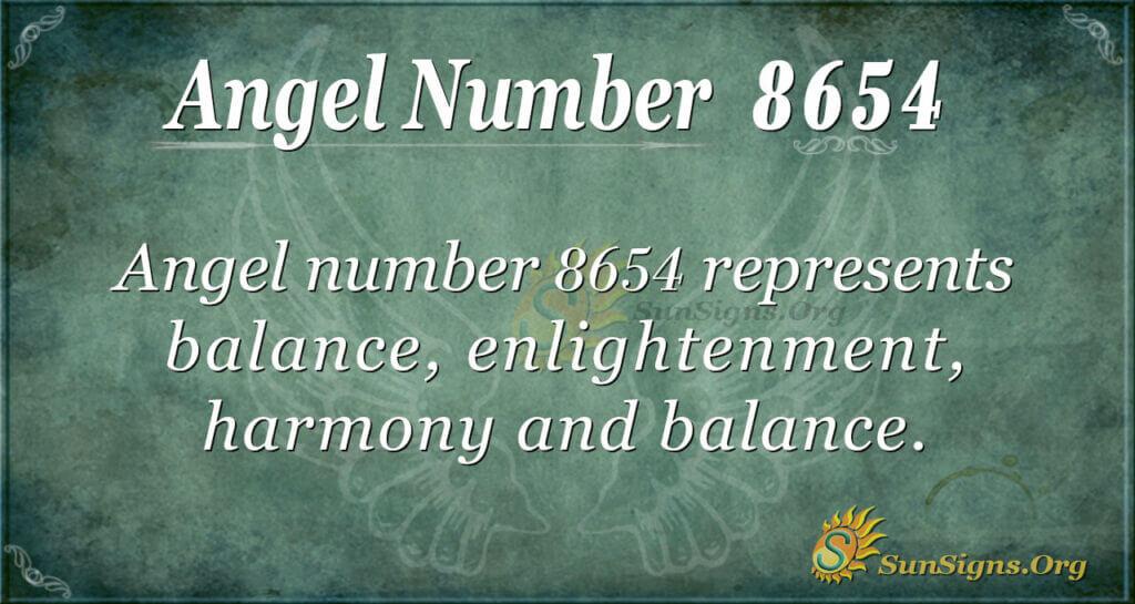 8654 angel number
