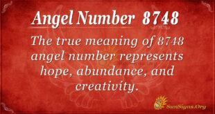 8748 angel number